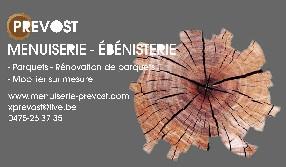 Menuisier Ebéniste Xavier Prévost BOUSVAL